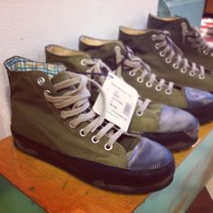 Cool sneakers, and they are eco friendly too. By Globe Hope.