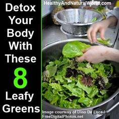 How to Detox Your Body With These 8 Leafy Greens