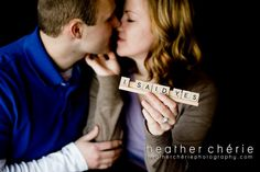 The scrabble letters are just such an awesome prop! I am loving them!