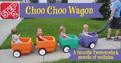 Choo Choo Wagon - From the First to the Last, They Grow so Fast!