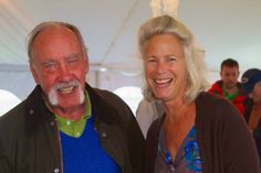 """BLOCK ISLAND, R.I. -- NBC-TV reporter Mike Taibbi was a surprise reader Sunday at the Block Island Poetry Project's """"Event in the Tent,"""" the group's Nancy Greenaway said Tuesday in an email."""