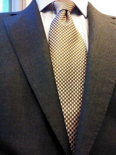 Sam Hober Tie:  English Pattern Silk Tie 6 http://www.samhober.com/pattern-silk-ties/