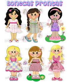 bonecas digitais