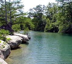 Another one of Wimberley's Blanco River.