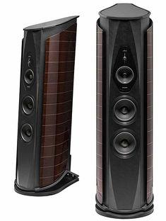 Sonus Faber Aida loudspeaker – Home Theatre Design Audiophile Speakers, Hifi Audio, Wireless Speakers, Tower Speakers, Speaker Stands, Audio Design, Speaker Design, Best Loudspeakers, Radios