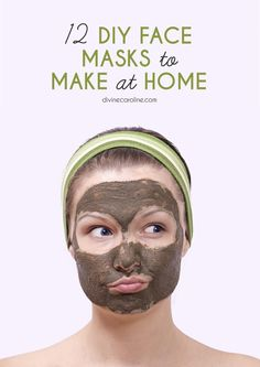 DIY Masque : Description Remember, it's always a good idea to test DIY beauty products on a small patch of skin on your wrist before applying it to your face. Spa Tag, Belleza Diy, Diy Masque, Homemade Face Masks, Diy Face Mask Easy, Best Diy Face Mask, Diy Skin Care, Rosacea, Skin Care