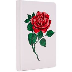 ban.do Will You Accept This Rose? Journal (162.795 VND) ❤ liked on Polyvore featuring home, home decor, stationery and pink multi