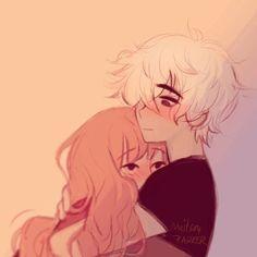 Amanda e Renato Cute Couple Drawings, Cute Couple Art, Anime Couples Drawings, Cute Couples, Cute Drawings, Couple Poses Drawing, Anime Chibi, Kawaii Anime, Manga Anime