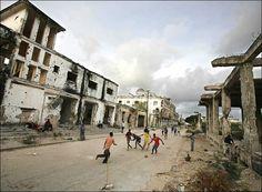 footynions:  In Mogadishu, Somalia.
