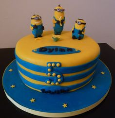 Despicable Me Minion Cake | Wedding & Birthday Cakes from ...