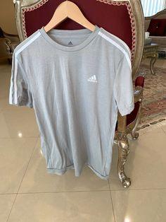 85985b83bd1 ADIDAS Men s BLACK White STRIPES Shirt - Medium M Large L - Polyester   fashion