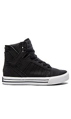 Supra Skytop Satin Sneaker in Black Diseños De Zapatos 566a2a128928a