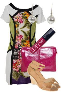 Cotton Orientique Dress at Birdy Boutique