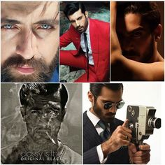 The #nominations for #LuxStyleAwards2017 #BestMaleModelOfTheYear 1, #HasnainLehri