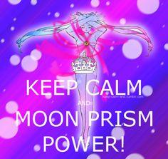 ...moon prism power! @Sara Per-Val is loooooove just loooooove!!!
