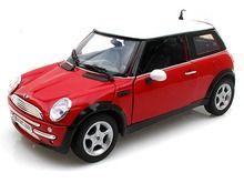 Motor Max 1/18 Scale 2001 Mini Cooper R50 Red Diecast Car Model 73114 www.DiecastAutoWorld.com 2312 W. Magnolia Blvd., Burbank, CA 91506 818-355-5744 AUTOart Bburago Movie Cars First Gear GMP ACME Greenlight Collectibles Highway 61 Die-Cast Jada Toys Kyosho M2 Machines Maisto Mattel Hot Wheels Minichamps Motor City Classics Motor Max Motorcycles New Ray Norev Norscot Planes Helicopters Police and Fire Semi Trucks Shelby Collectibles Sun Star Welly