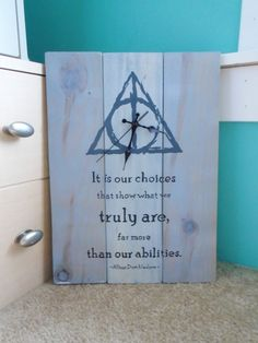 Harry Potter Deathly Hallows Inspired Rustic by EmeraldCityRustic
