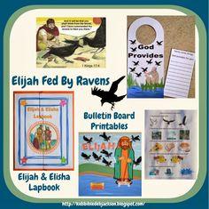 http://kidsbibledebjackson.blogspot.com/2014/03/elijah-fed-by-ravens.html