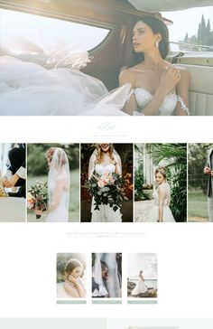 Bliss Wordpress Divi website template for event professionals—classically modern, timelessly elegant. Customization included. Blog Post Template, Website Template, Keynote, Bliss, One Shoulder Wedding Dress, Wordpress, Branding, Templates, Elegant