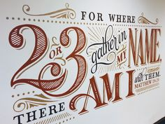 Typography inspiration | #1059