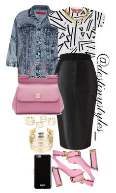 """Untitled #197"" by iamdestinnny on Polyvore featuring Boohoo, Kat Maconie, Lipsy, Dolce&Gabbana, Givenchy, WithChic, women's clothing, women, female and woman"