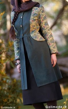 Batik Fashion, Skirt Fashion, Fashion Dresses, Beautiful Casual Dresses, Hijab Fashion Summer, Fancy Kurti, Iranian Women Fashion, Hijab Style, Batik Dress