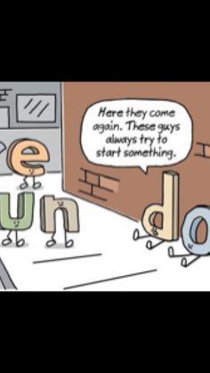 Grammar Funny, Guys, Comics, Cartoons, Sons, Comic, Comics And Cartoons, Boys, Comic Books