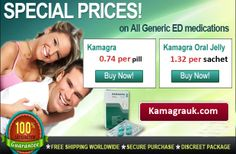 Kamagra served as the best drug to cure ED. The generic pill works by enhancing the hydraulic effect of blood entering in the sponge like bodies within the penile regions. The process often delivers desirable effects in presence of Sexual Arousal. Kamagra in tablets works within 30 minutes after consumption whereas flavored oral jelly and soft tabs does it in 15 minutes.