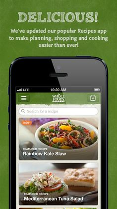 Which two food you and your partner 7apps pinterest check out the mobile apps that whole foods market offers forumfinder Images