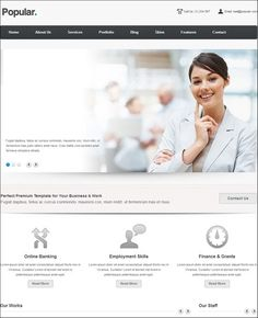 Best Responsive Business WordPress Themes – Want To Stand Out? Wordpress Template, Wordpress Theme, Busy At Work, Popular, Business, Blog, Most Popular, Popular Pins, Blogging