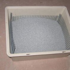 Litter Sifter Instructable