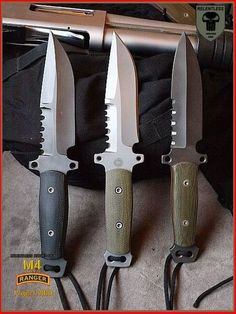 First Prototypes of Relentless Knives Ranger from 2010 Types Of Knives, Knives And Tools, Knives And Swords, Buck Knives, Cool Knives, Combat Knives, Survival Knife, Survival Weapons, Swords And Daggers
