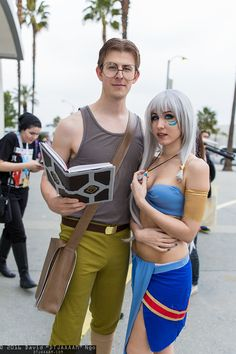 Milo Thatch and Kida Cosplay Anime Los Angeles 2016 Couples Cosplay, Cosplay Outfits, Cosplay Costumes, Cosplay Ideas, Couple Halloween Costumes, Halloween Cosplay, Cool Costumes, Costume Ideas, Comic Con Costumes