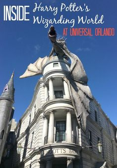 Secrets of the Wizarding World of Harry Potter at Universal Orlando