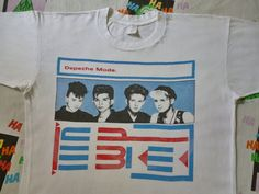 Rare vintage early 80s Depeche mode t-shirt. $499.00, via Etsy.