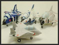 SD Mitsubishi F-15J Fighter Free Aircraft Paper Model Download