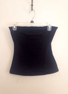 Buy my item on #vinted http://www.vinted.com/womens-clothing/tube-tops/20105435-black-zinc-stretchy-bustier-tube-top