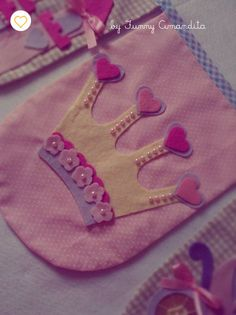 Bandeirolas Funny Amandita Princesas2