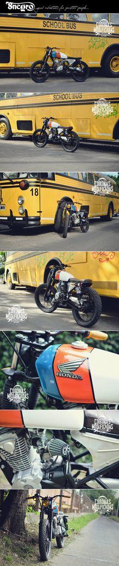 Honda CB Tracker