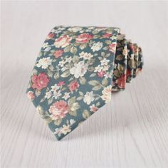 wedding neckties.vintage floral ties.floral printed neck ties for groomsmen.green floral ties.mens prom neck ties for ring bearer+nt229