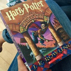 """""""Harry Potter and the Sorcerer's Stone"""" by J.K. Rowling #nowreading #books #booklover"""