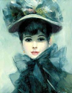 Картины красивых женщин