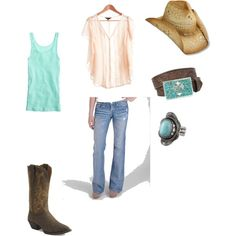 country girl style, lovin it (: