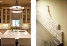 Shape of tile backsplash. (design: Ashley Gilbreath Interiors)