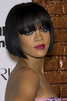 Short Bob Hairstyles Black Women - for more great hair style pictures, click africanamericanhairstylestrend.com