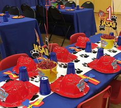 Paw Patrol Birthday Party Ideas | Photo 1 of 11 | Catch My Party