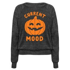 This halloween shirt is great for fall lovers and halloween fanatics who just can't get enough spoop and spooky time because current mood: halloween. This pumpkin shirt is perfect for fans of halloween jokes and halloween memes.