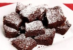 Chewy Brownies Recipe - Laura in the Kitchen - Internet Cooking Show Starring Laura Vitale (made these, very good, kids loved them) Chewy Brownies, Chocolate Brownies, Homemade Brownies, Chocolate Chocolate, Chocolate Lovers, White Chocolate Chips, Melting Chocolate, Brownie Recipes, Dessert Recipes