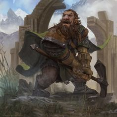 ArtStation - Erebor Guard, Marius Bota