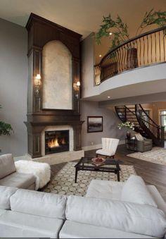 nice fireplace mantle